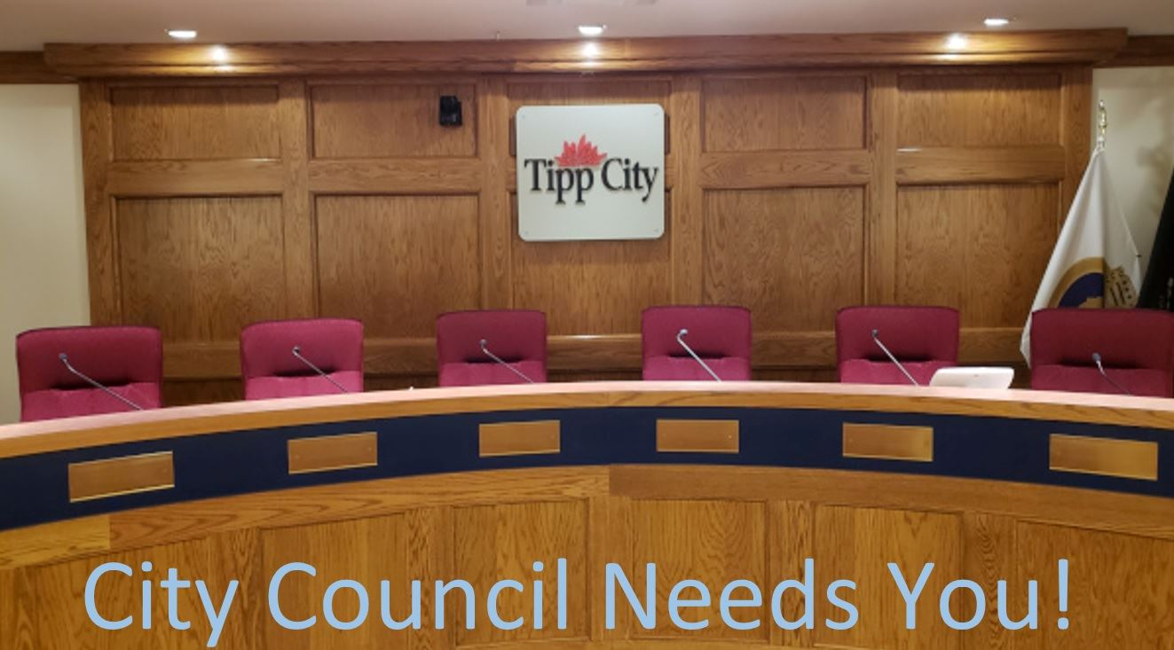City Council Needs You